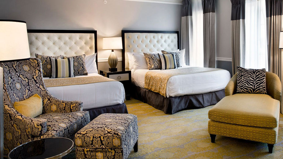 Double Queen Rooms in Ambassador Tulsa Autograph Collection Hotel Tulsa Oklahoma