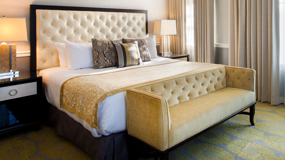Hurley King Deluxe Rooms in Ambassador Tulsa Autograph Collection Hotel Tulsa Oklahoma